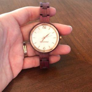 Jewelry - Wood stone Watch